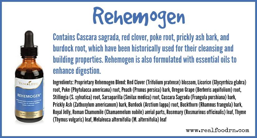 Rehemogen | Real Food RN