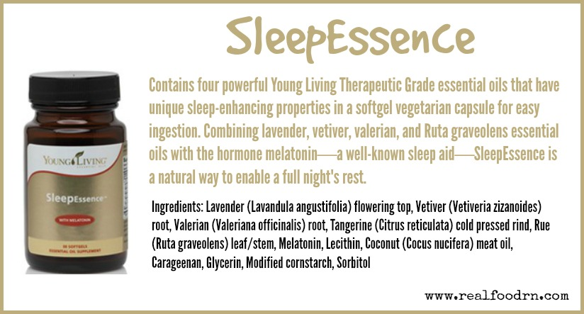 SleepEssence   Real Food RN