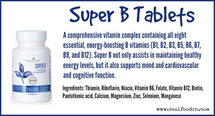 Super B Tablets | Real Food RN