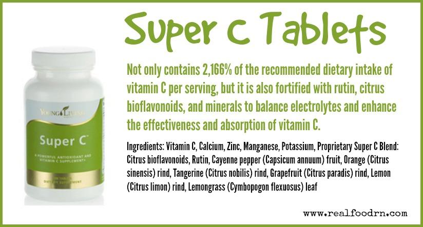 Super C Tablets | Real Food RN