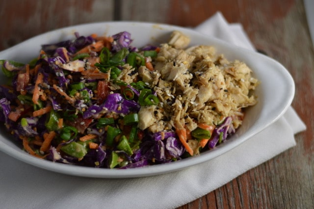 Easy and Delicious Chinese Chicken Salad