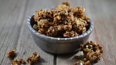Nutty Grain-Free Granola Clusters Kids Love | Real Food RN