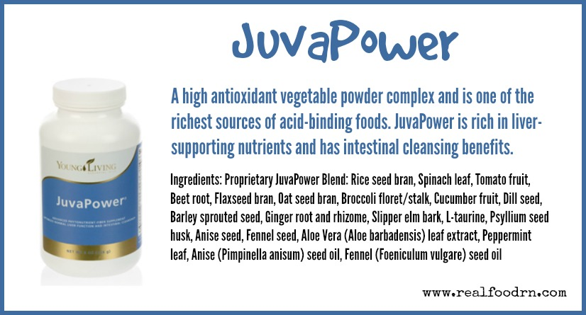JuvaPower | Real Food RN
