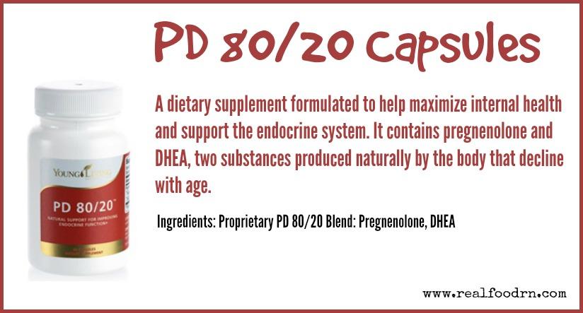 PD 80/20 Capsules | Real Food RN