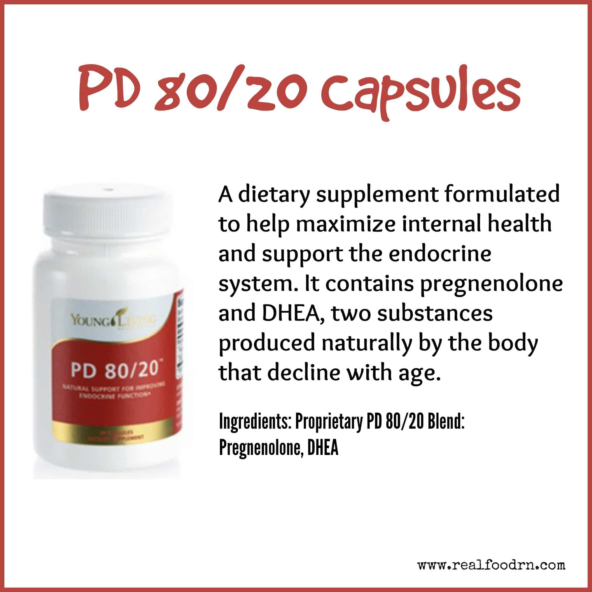 PD 80/20 Capsules
