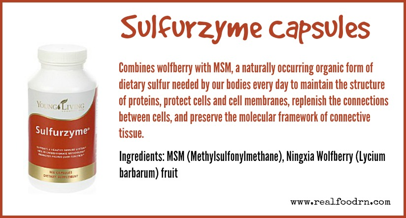 Sulfurzyme Capsules | Real Food RN