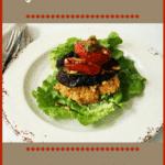 Grilled Vegetable Stack on Red Lentil Puree | Real Food RN