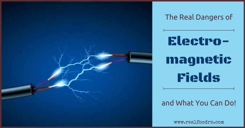 The Real Dangers of Electromagnetic Fields and What You Can Do! | Real Food RN