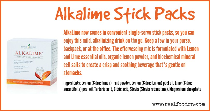 Alkalime Stick Packs | Real Food RN