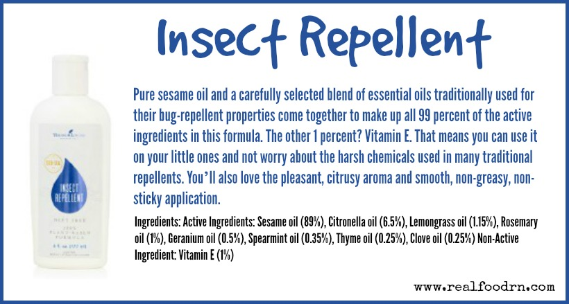 Insect Repellent | Real Food RN