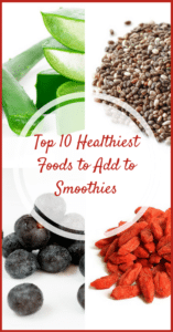 Top 10 Healthiest Foods to Add to Smoothies   Real Food RN
