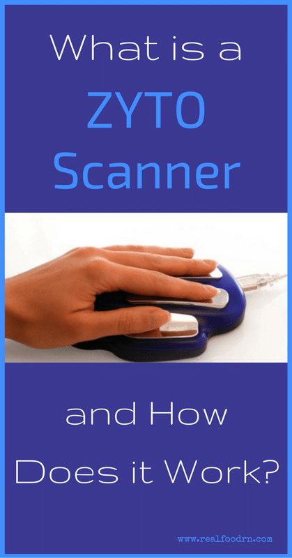 What is a ZYTO Scanner and How Does it Work? | Real Food RN