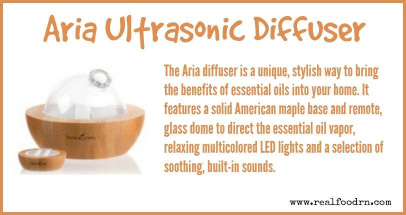 Aria Ultrasonic Diffuser | Real Food RN
