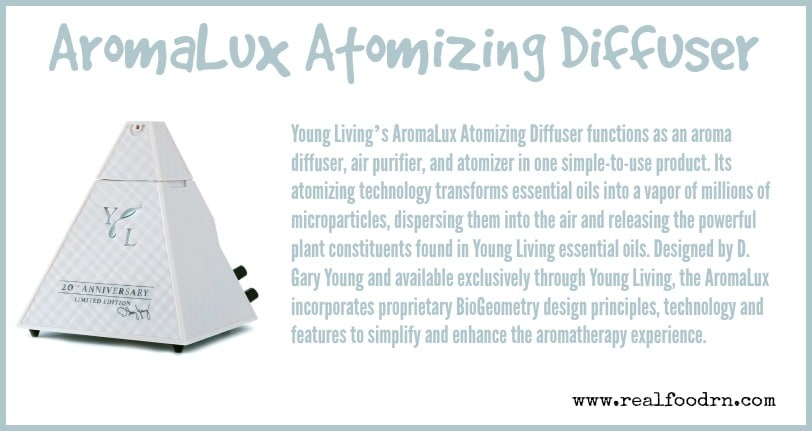 AromaLux Atomizing Diffuser | Real Food RN