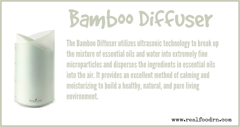 Bamboo Diffuser | Real Food RN