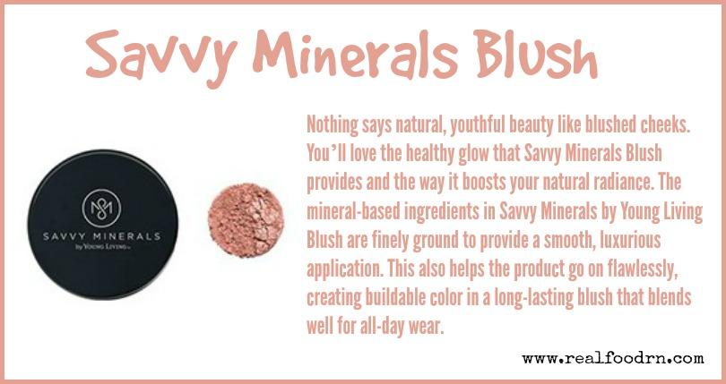 Savvy Minerals Blush   Real Food RN