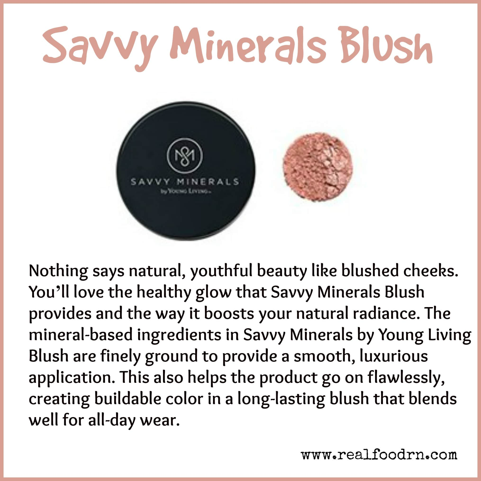 Savvy Minerals Blush