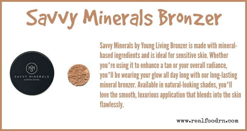 Savvy Minerals Bronzer | Real Food RN