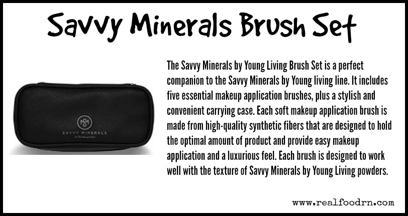 Savvy Minerals Brush Set | Real Food RN