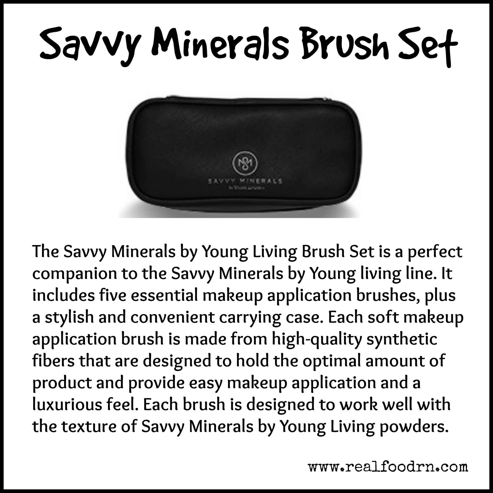 Savvy Minerals Brush Set