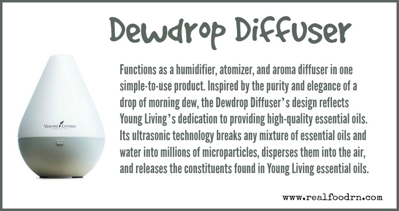 Dewdrop Diffuser | Real Food RN