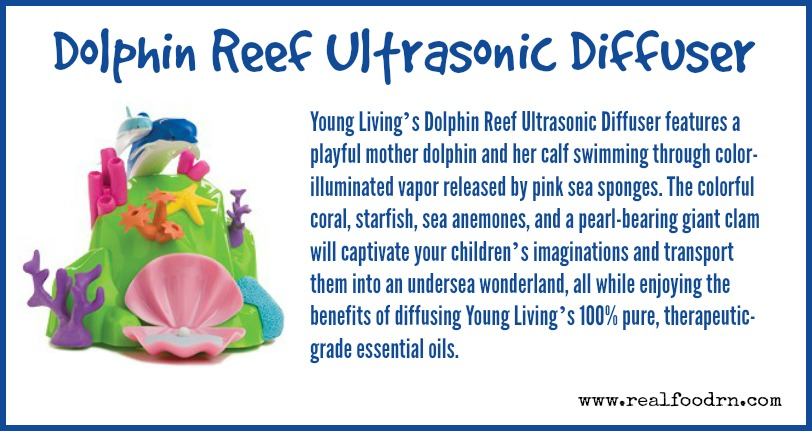 Dolphin Reef Ultrasonic Diffuser | Real Food RN