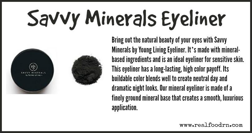 Savvy Minerals Eyeliner | Real Food RN