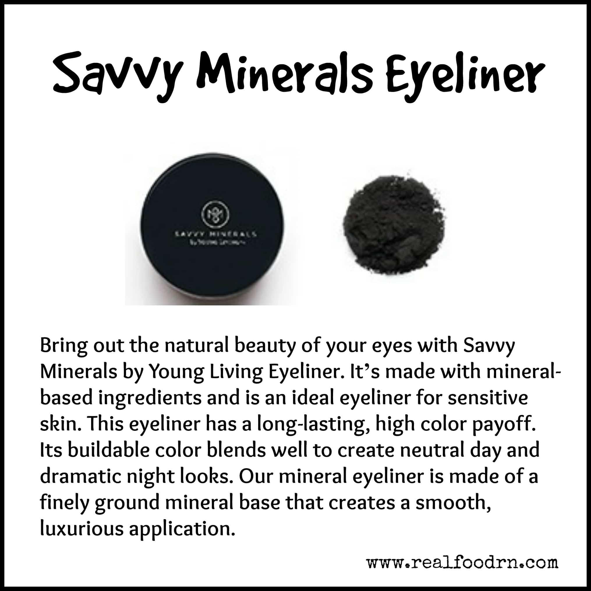 Savvy Minerals Eyeliner