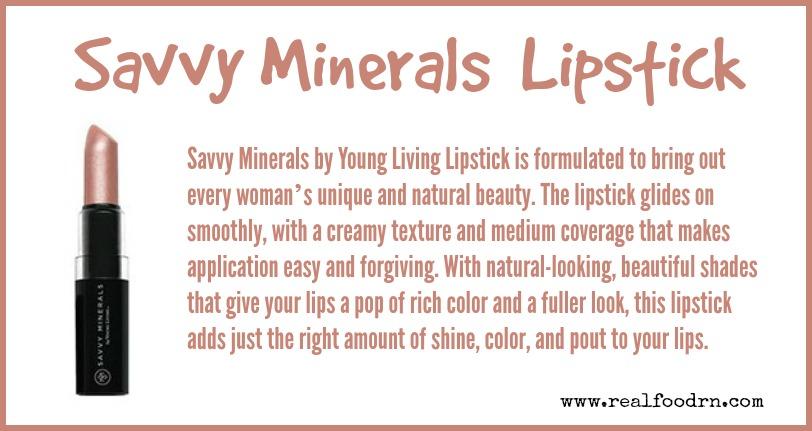 Savvy Minerals Lipstick | Real Food RN