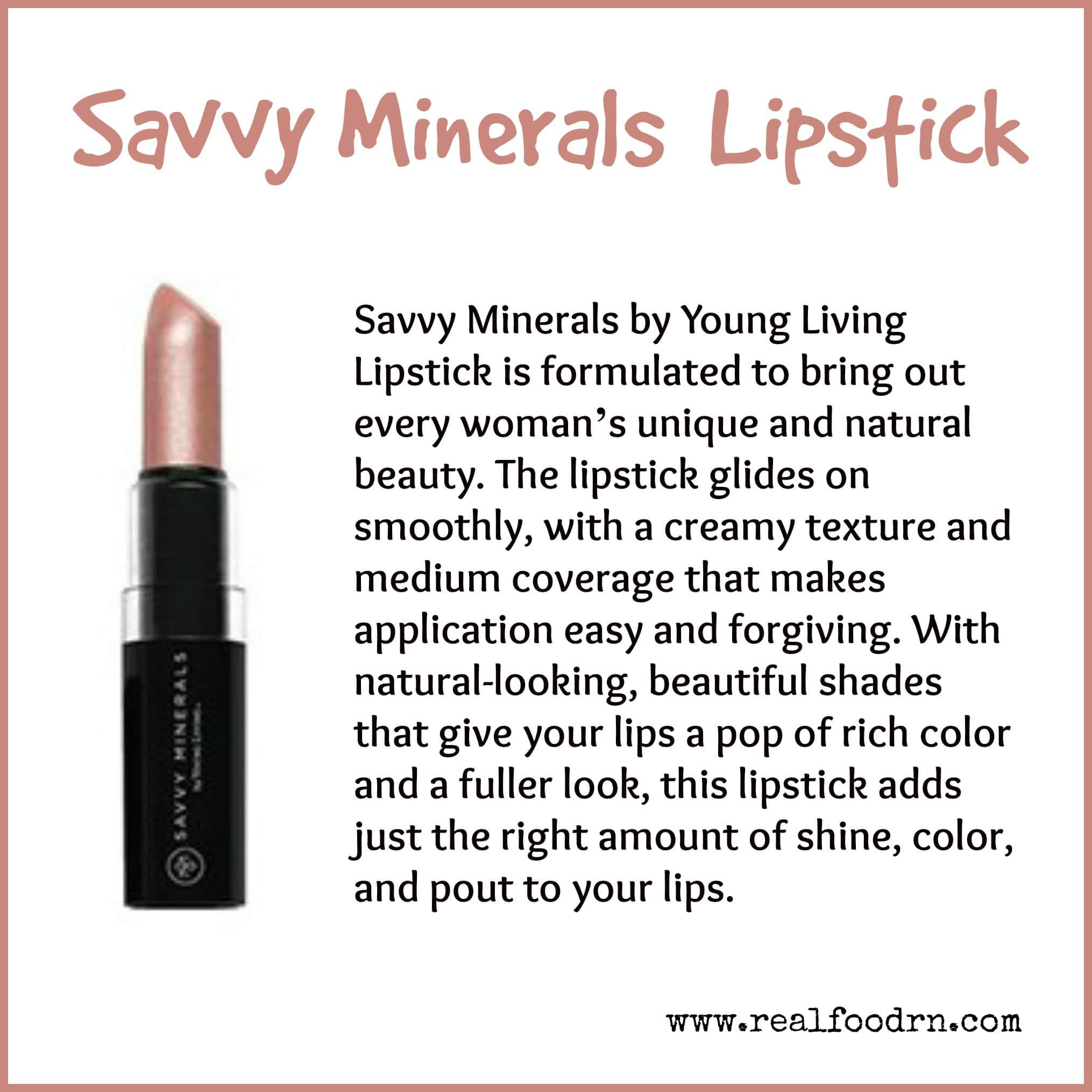 Savvy Minerals Lipstick