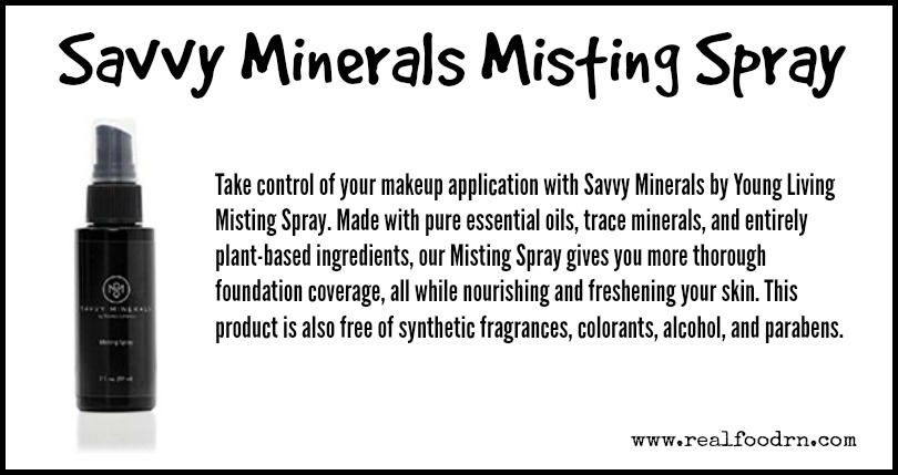 Savvy Minerals Misting Spray | Real Food RN