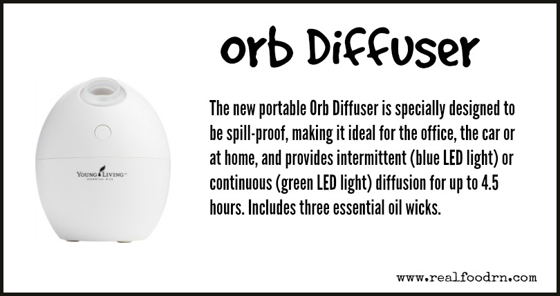 Orb Diffuser | Real Food RN
