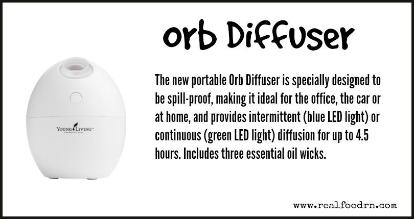Orb Diffuser   Real Food RN