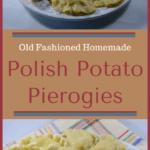 Old Fashioned Homemade Polish Potato Pierogies | Real Food RN