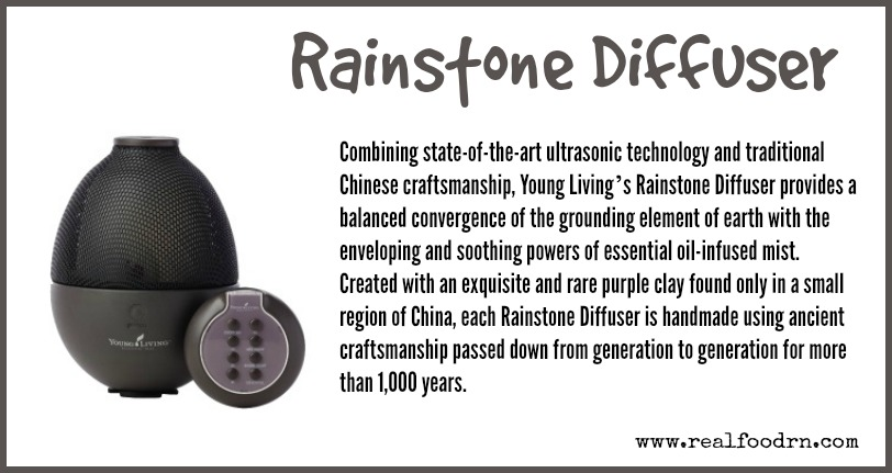 Rainstone Diffuser | Real Food RN