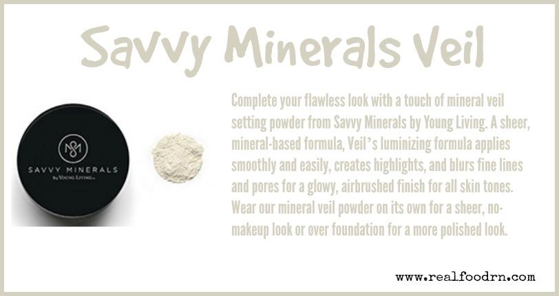 Savvy Minerals Veil | Real Food RN