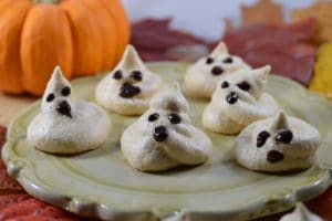 Ghostly Meringue Cookies - Real Food RN