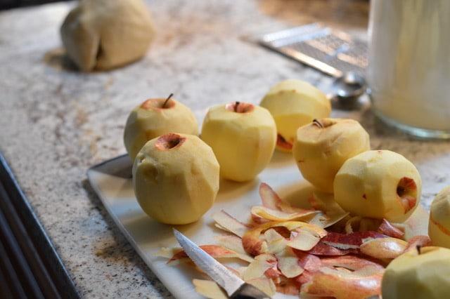 Polish Grain Free Apple Pie Recipe - Peeled Apple | Real Food RN