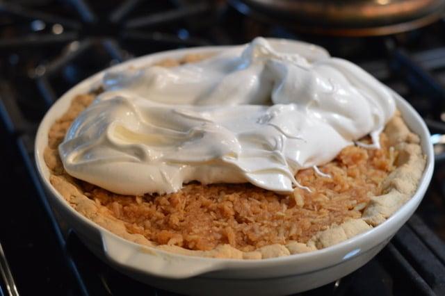 Polish Grain Free Apple Pie Recipe - Top with Meringue | Real Food RN