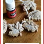 Festive Salt Dough Diffuser Decorations