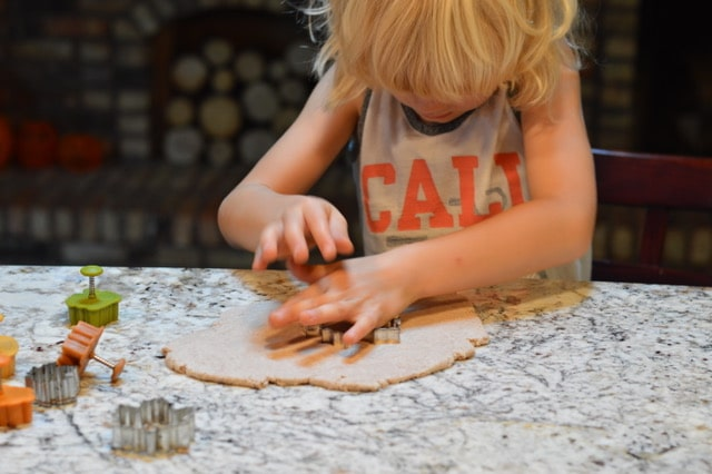 Festive Salt Dough Diffuser Decorations | Real Food RN