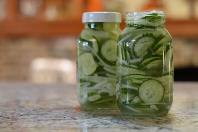 Easy Sugar Free Bread and Butter Refrigerator Pickles | Real Food RN