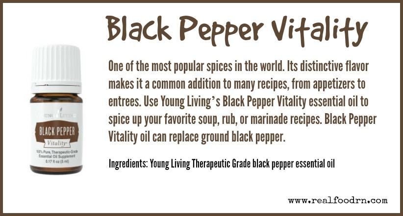 Black Pepper Vitality | Real Food RN