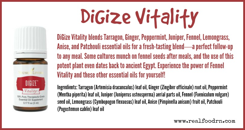 DiGize Vitality | Real Food RN