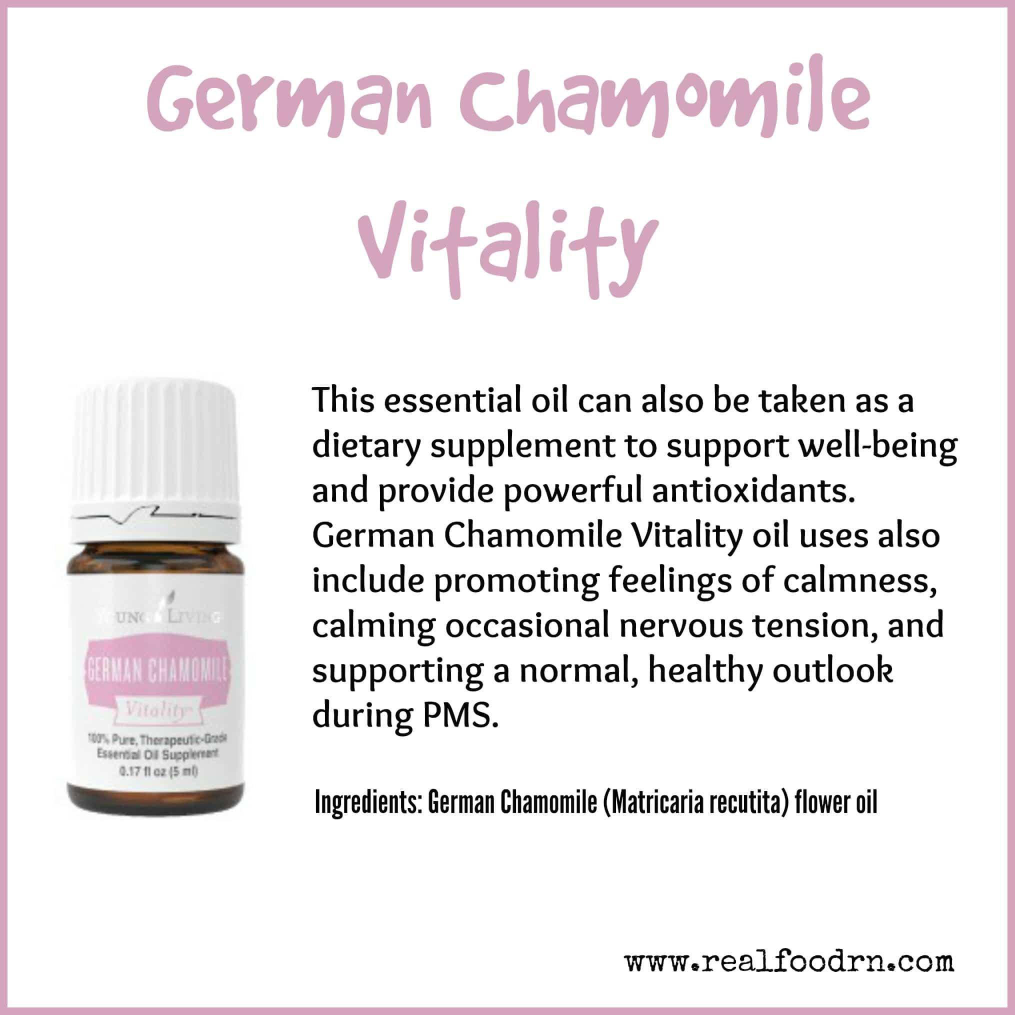 German Chamomile Vitality