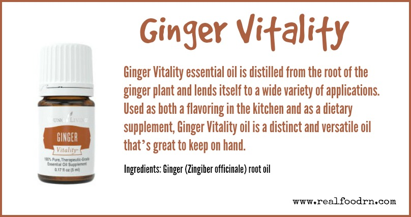Ginger Vitality | Real Food RN
