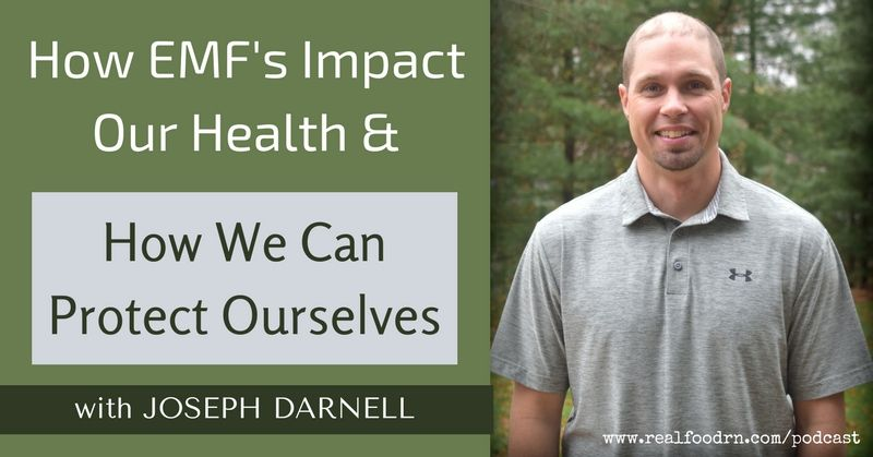 Joseph Darnell - How EMF's Impact Our Health & How We Can Protect Ourselves   Real Food RN