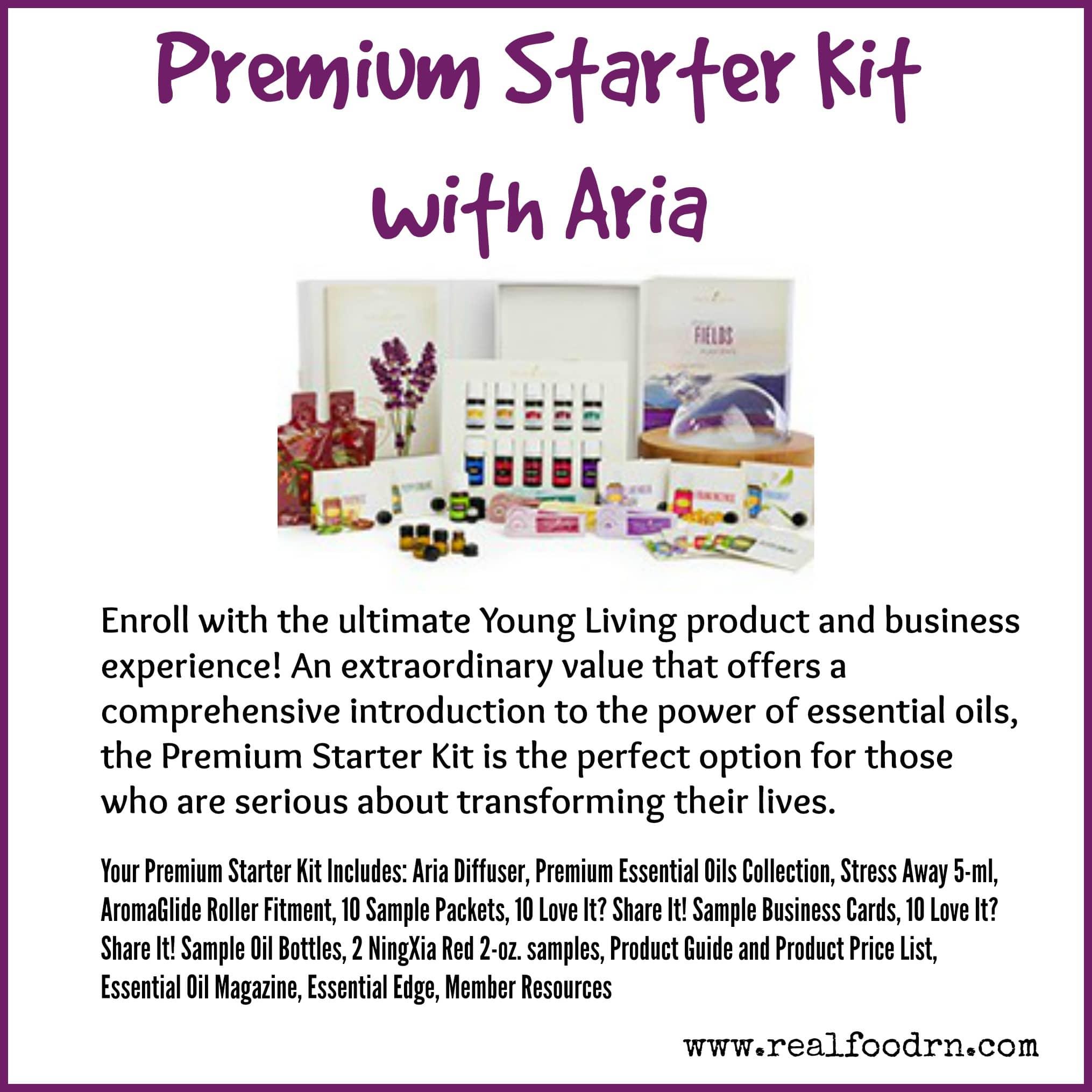 Premium Starter Kit with Aria