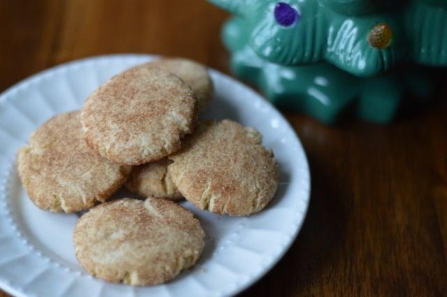 Easy Grain-Free Snickerdoodles Cookies