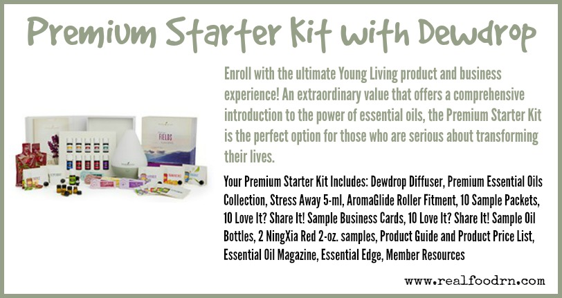 Premium Starter Kit with Dewdrop | Real Food RN